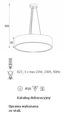 da0a16949eadc Lampa Wisząca Cleoni Aba 40 wysyłka 24 H - Sklep BajkoweLampy.pl