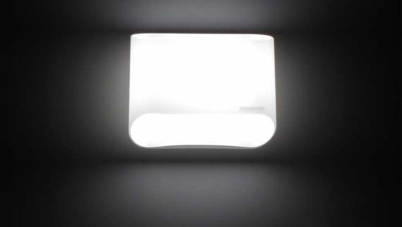 ABBEY P Lampa Ścienna Leucos biała