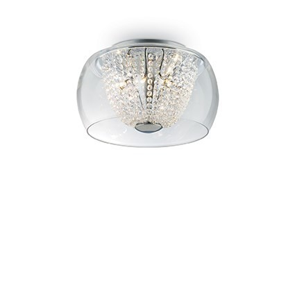 AUDI-61 PL6 133898 Lampa sufitowa Ideal Lux chrom