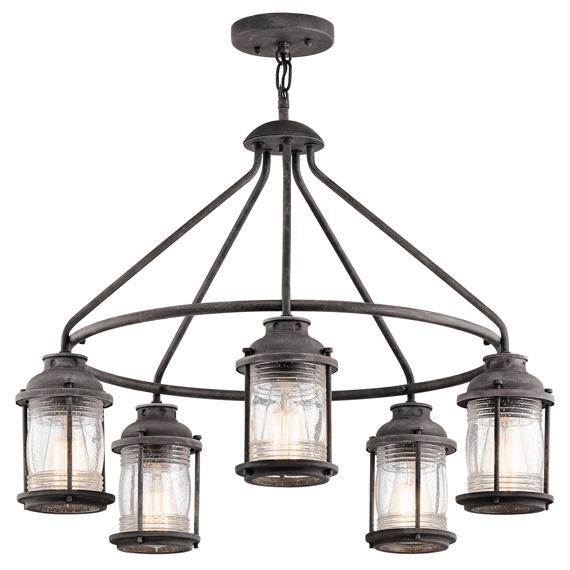 Ashland Bay KL/ASHLANDBAY/5P Elstead Lighting Lampa wisząca