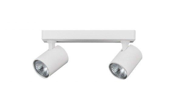 Azzardo Exo 2 Lampa sufitowa regulowana 2 x GU10 35W biała