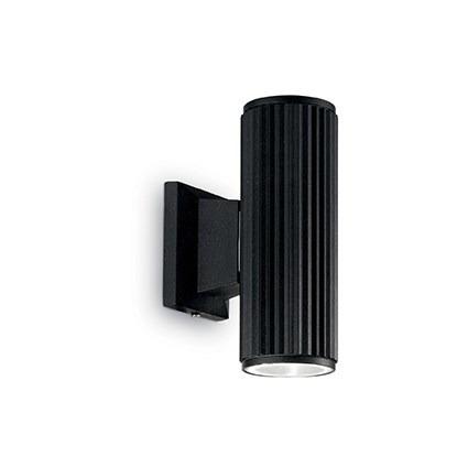 BASE AP2 129433 Lampa ścienna Ideal Lux czarna