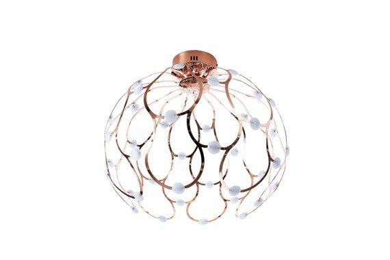 Berella Light Plafoniera LED Aspilia kolor różowe złoto