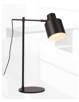 Black T0025 MaxLight Lampa stołowa