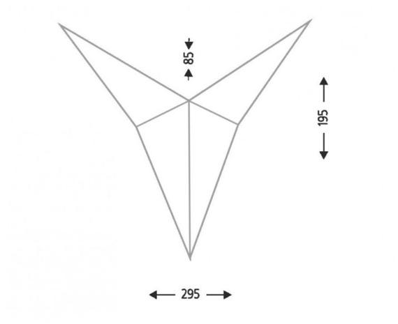 Hino IL 7435 Shilo Lampa ścienna