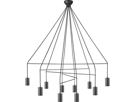 Imbria Black 9680 Nowodvorski Lampa wisząca