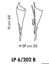 KINGSTON LP 6/202B 03 Kinkiet Sillux  miedziany 64 cm
