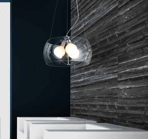 Lampa AZZARDO Cosmo 2901-3PA Clear