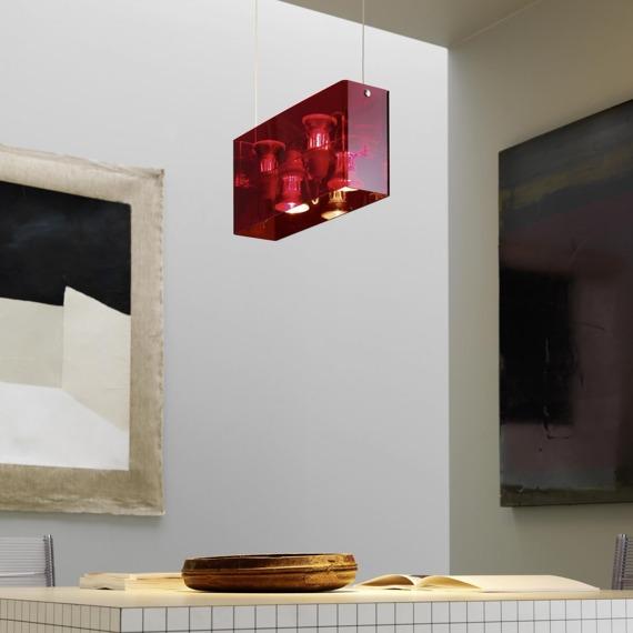 Lampa Fontana Arte Duplex 5301/1 RED