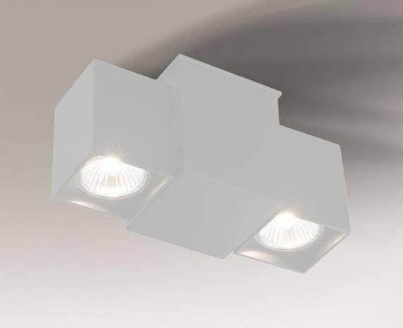 Lampa Sufitowa Bizen 7217 Shilo biała