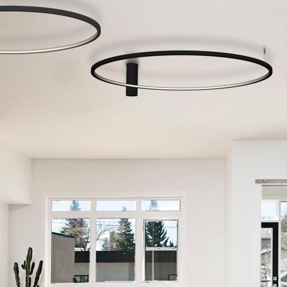 Lampa Sufitowa Echo 67949 48 W LED biały