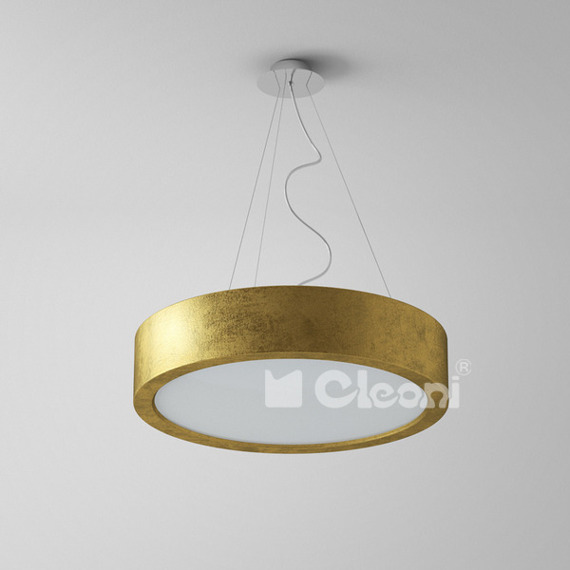 Lampa Wisząca Cleoni OMEGA 1571 942 złota