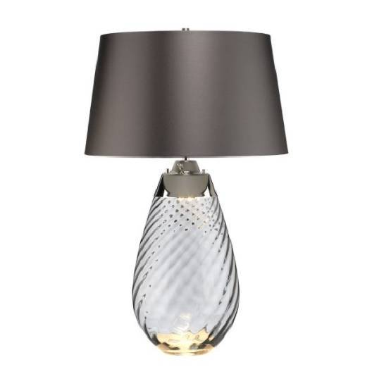 Lampa stołowa Elstead Lighting Lena LENA-TL-L-SMOKE