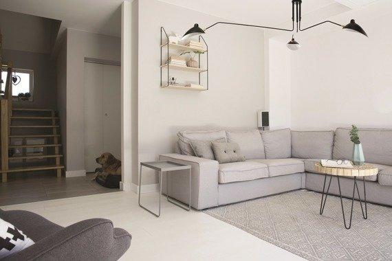 Lampa sufitowa czarna duża loft Berella Light Estra 3