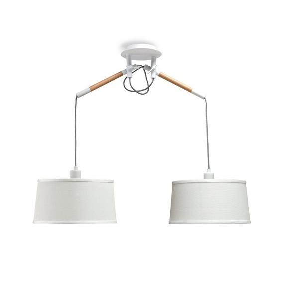 Lampa wisząca Mantra Nordica E27 2L 4930