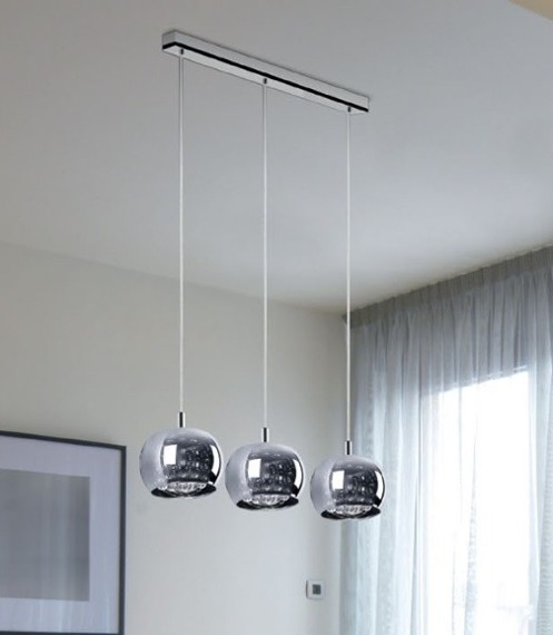Lampa wisząca Zuma Line CRYSTAL P0076-03N-B5FZ