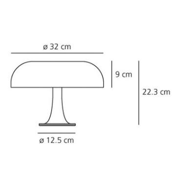 Lampka Nessino 0039060A Artemide