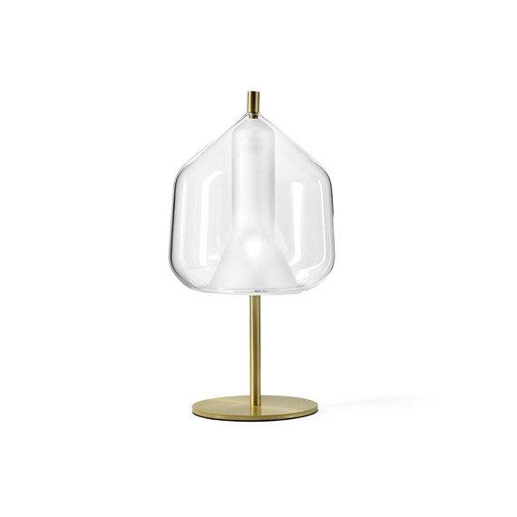 Lampka nocna Miloox X-Ray złoto - transparentna