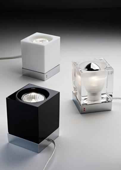 Lampka stołowa Fabbian CUBETTO CRYSTAL D28 B03 00