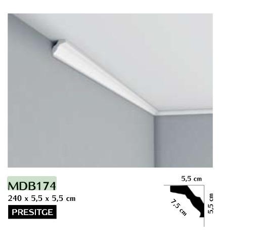 Listwa przysufitowa gładka Mardom MDB174