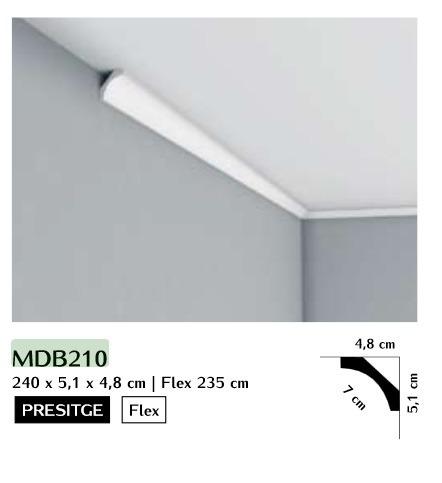 Listwa przysufitowa gładka Mardom MDB210