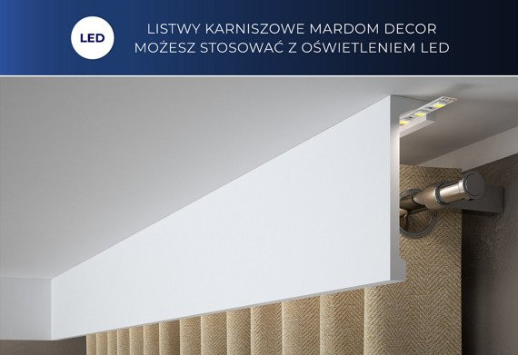 Mardom Decor QL016 Listwa karniszowa