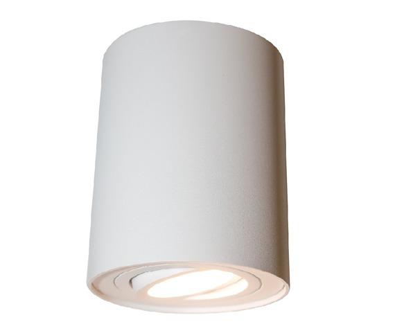 Mistic Ecotube Oprawa sufitowa kolor biały 1 x 50 W GU10