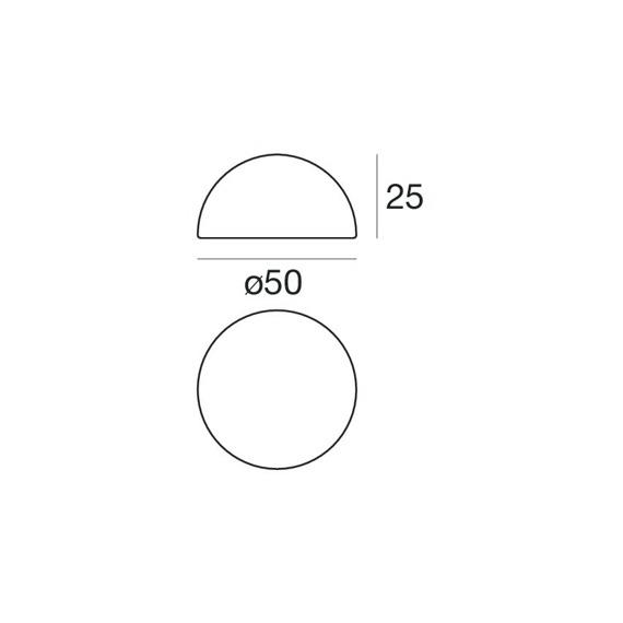 Ohps! 15384 Lampa Stojąca IP65 Linea Light