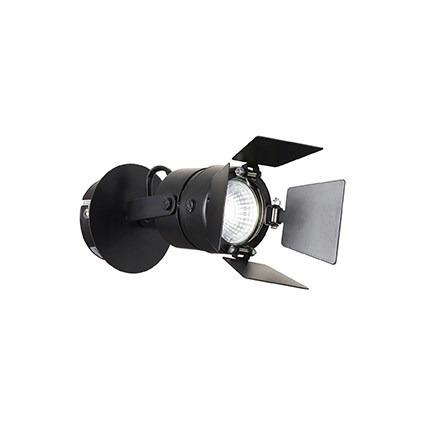Oprawa Ścienna Ciak AP 1 Ideal Lux czarna