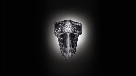 Oprawa Wisząca Aria Slamp XL Black Fade