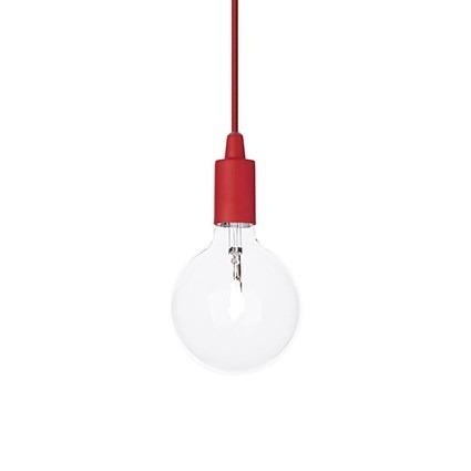 Oprawa Wisząca Edison SP1 czerwony Ideal Lux