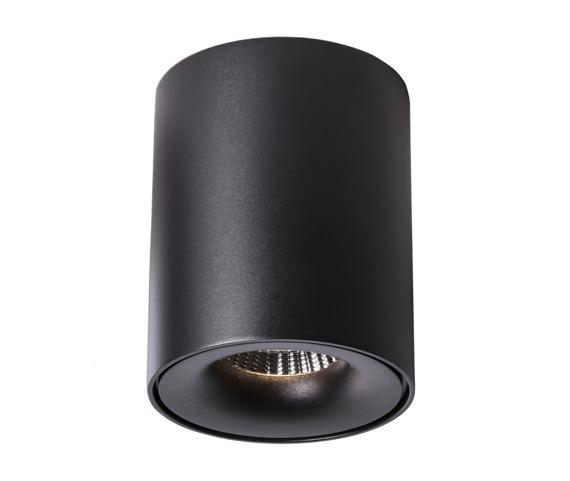 Oprawa sufitowa Elong Mistic kolor czarny