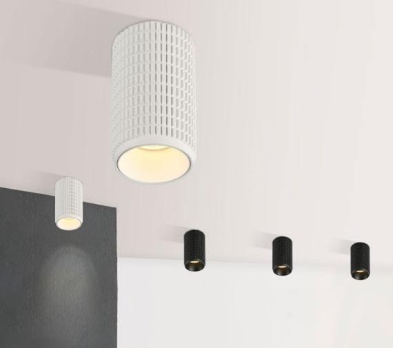 Oprawa sufitowa w kolorze białym Azzardo Avica AZ3122 6,5x12,5 cm