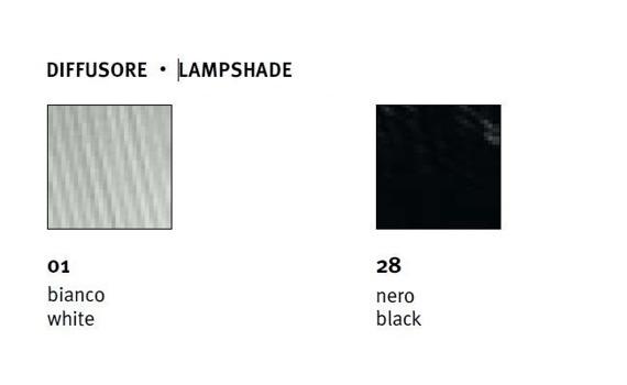 PARIGI 48 cm LP 6/241 A biała Lampa Ścienna Sillux