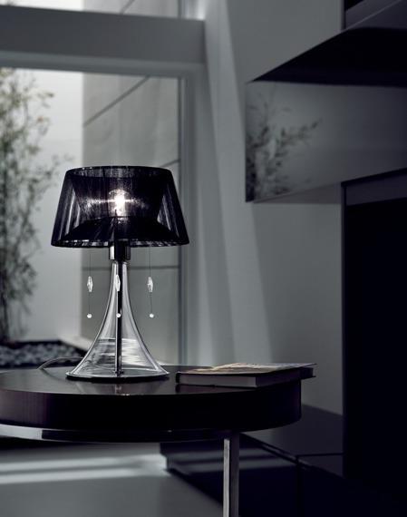 PARIGI LT 1/241 biała Lampa Stołowa Sillux