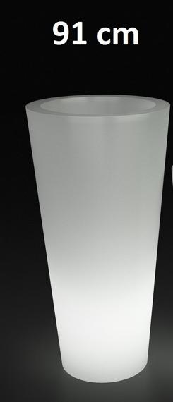 PD Concept 91 cm Donica Podświetlana VenusPL-VE91-LIGHT Biała