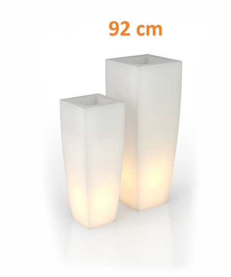 PD Concept 92 cm Donica Podświetlana Juno PL-JU92-LIGHT Biała