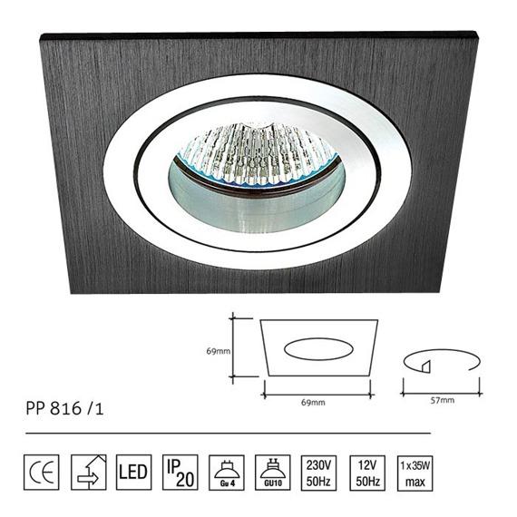 PP Design 816/1 Oprawa Wpuszczana
