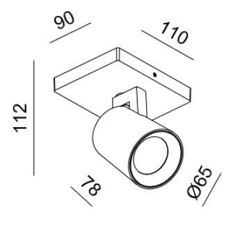Reflektor Eyespot Mistic MSTC-05411450