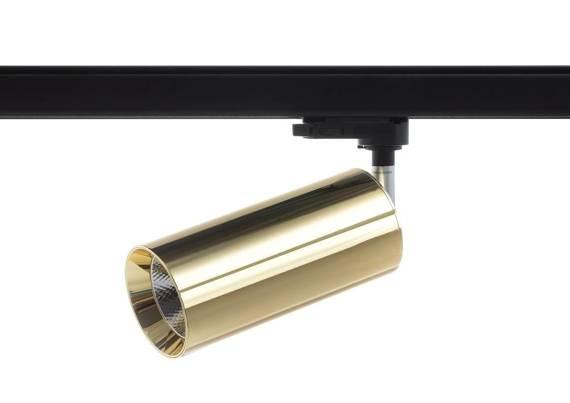 Reflektor Ledowy Do Szyny 3 Fazowy Berella Light Fusa 24W GD BL5193 Złoty