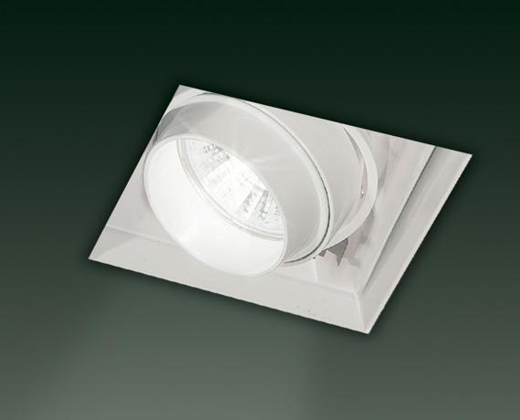 SD 601 Oprawa do zabudowy białą 8,2 cm Leucos