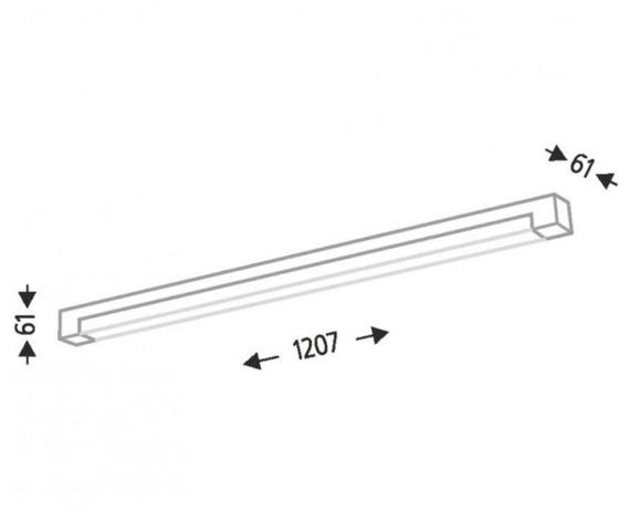 Sumoto 1193 Shilo Biały Lampa sufitowa