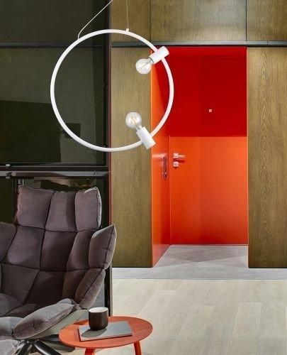 Zwis Azzardo Orsola w stylu loft czarna
