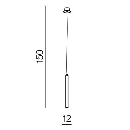 Żyrandol z elementem drewnianym Azzardo Izolda I AZ3339