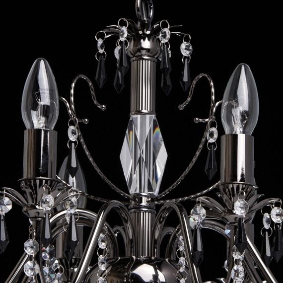 Żyrandol z kryształkami MW-Light Classic 313010208