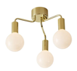 Lampa sufitowa Złoty Szczotkowany/Opal Markslojd 105774 HISTORY